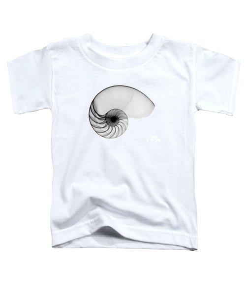 X-ray Of Nautilus Toddler T-Shirt