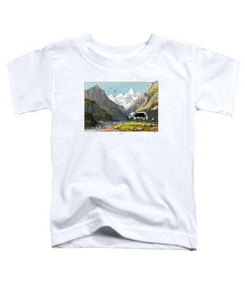 Yak Toddler T-Shirt by Splendid Art Prints