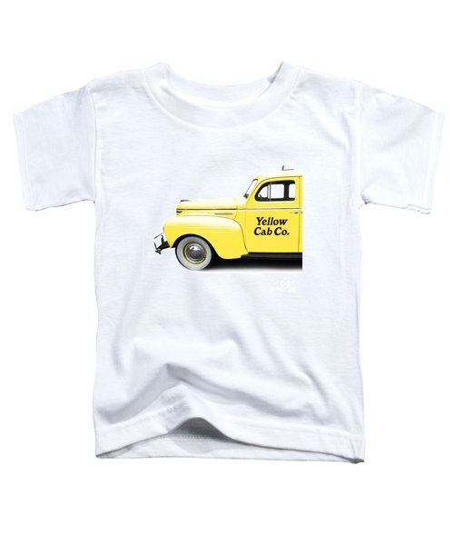 Yellow Cab Square Toddler T-Shirt