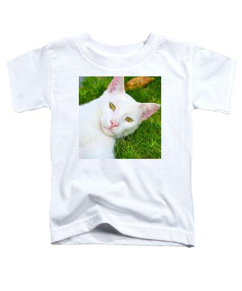 Yellow Eyes Toddler T-Shirt