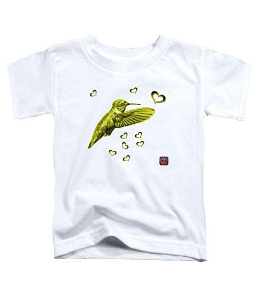 Yellow Hummingbird - 2055 F S M Toddler T-Shirt