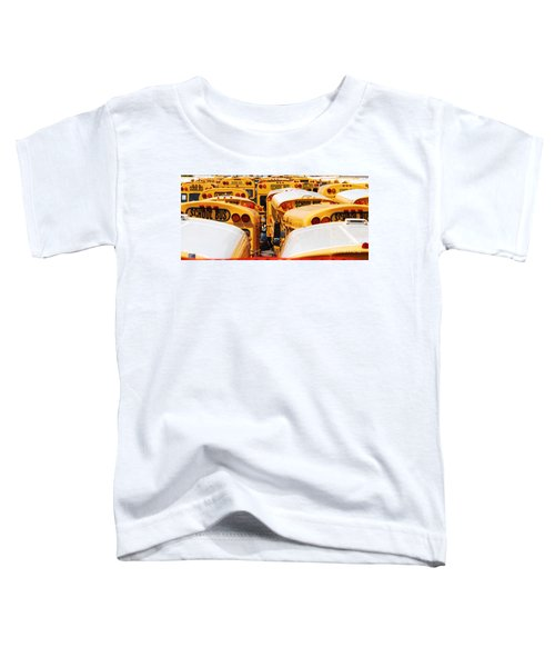 Yellow School Bus Toddler T-Shirt