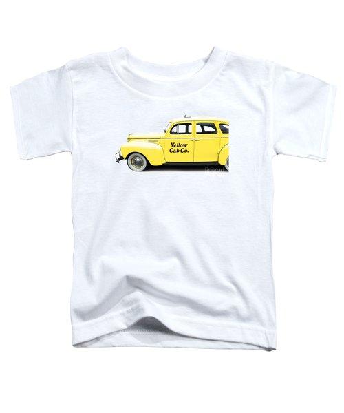 Yellow Taxi Cab Toddler T-Shirt