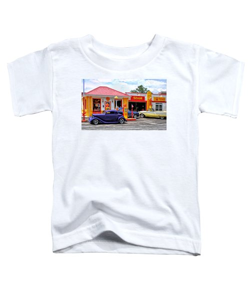 Yesterday's Shell Station Toddler T-Shirt
