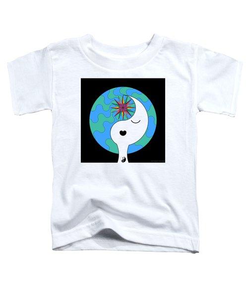 Yin Yang Crown 4 Toddler T-Shirt