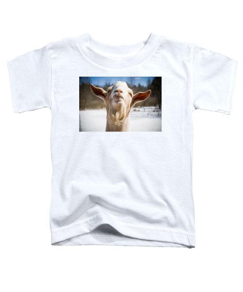 'yoda' Goat Toddler T-Shirt