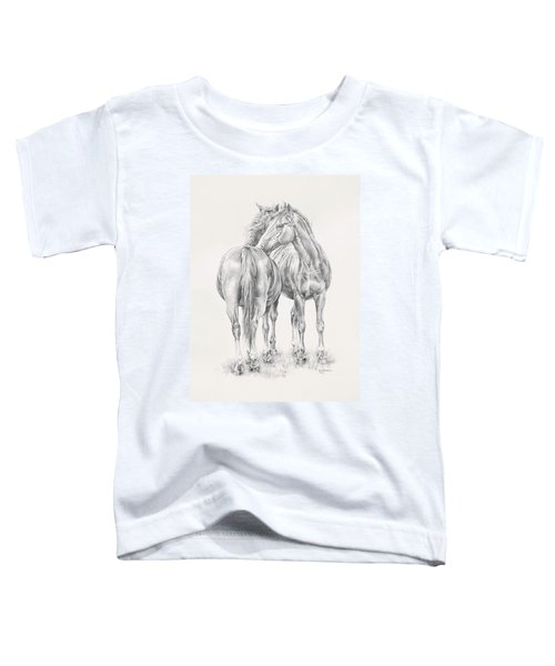 You Scratch My Back I'll Scratch Yours Toddler T-Shirt