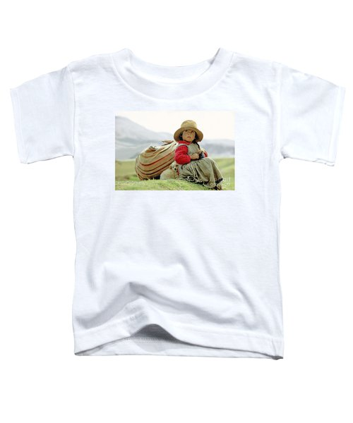 Young Girl In Peru Toddler T-Shirt