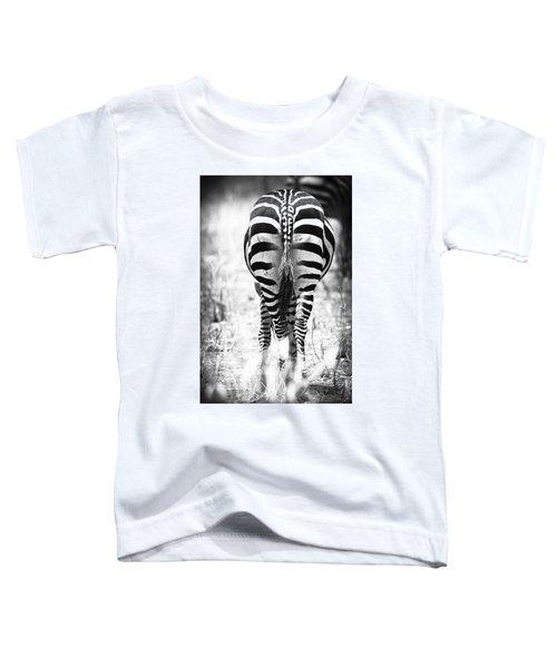 Zebra Butt Toddler T-Shirt