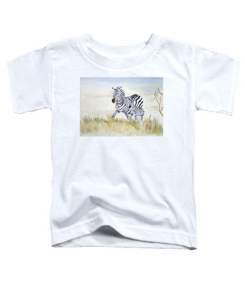 Zebra Family Toddler T-Shirt