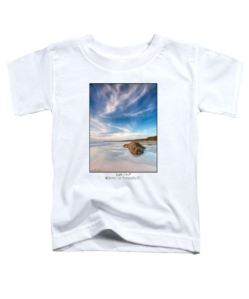 Welsh Coast - Porth Colmon Toddler T-Shirt