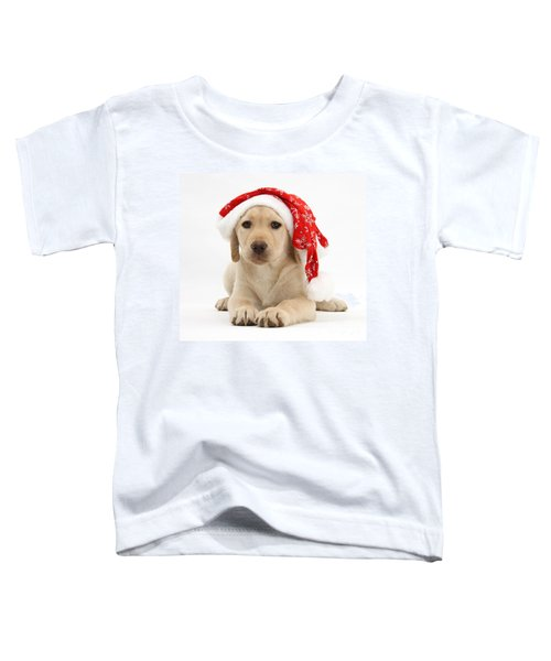 Christmas Puppy Toddler T-Shirt