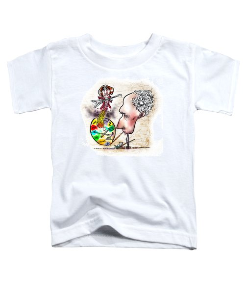 Happy Birthday Norman Rockwell Toddler T-Shirt