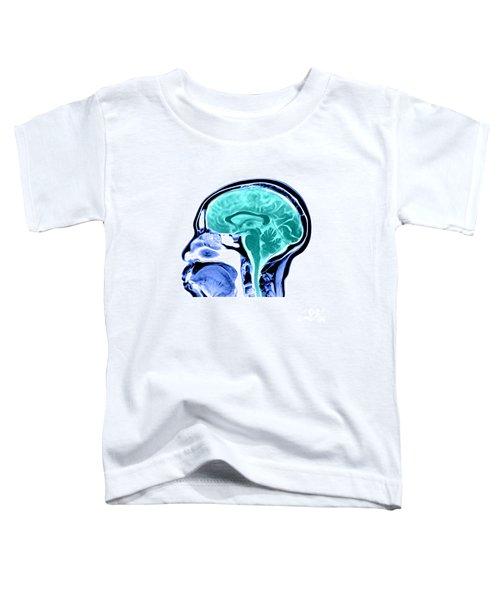 Sagittal View Of An Mri Of The Brain Toddler T-Shirt