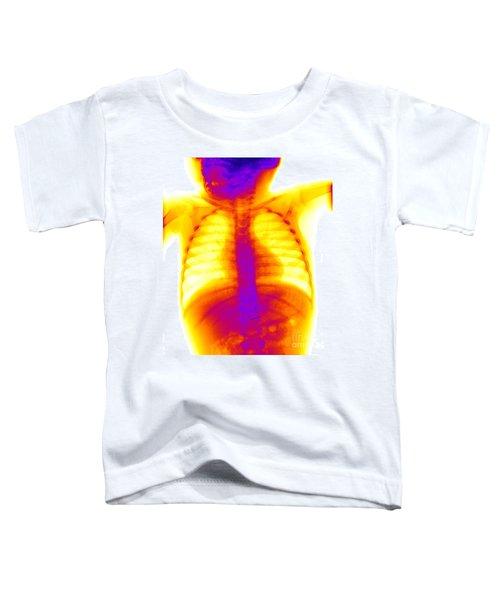 Swallowed Nail Toddler T-Shirt by Ted Kinsman
