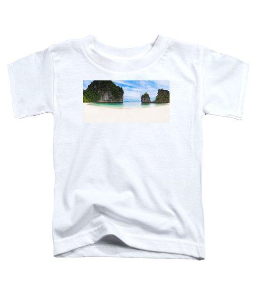 White Sandy Beach In Thailand Toddler T-Shirt