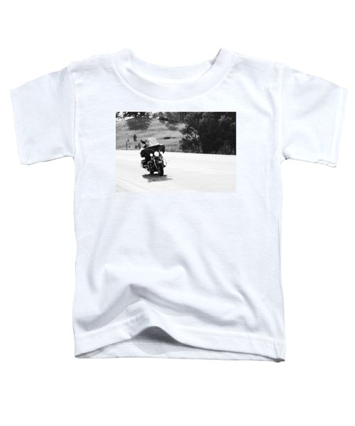A Peaceful Ride Toddler T-Shirt
