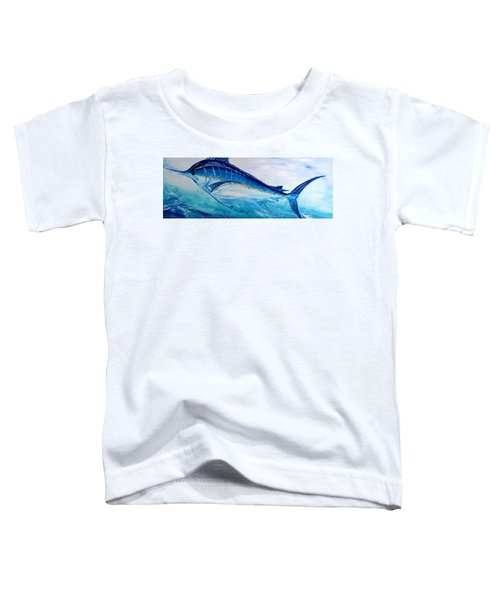 Abstract Marlin Toddler T-Shirt