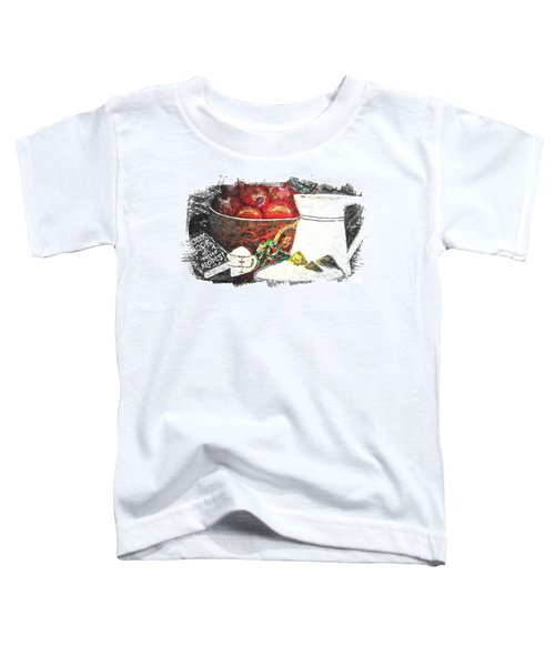 Apple And Rhubarb Pie Toddler T-Shirt