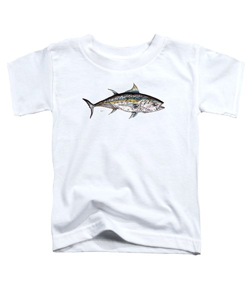 Beautiful Blue Fin Toddler T-Shirt