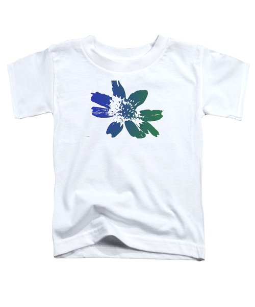 Blue In Bloom Toddler T-Shirt