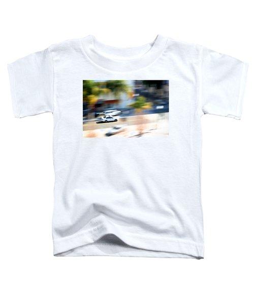 Car In Motion Toddler T-Shirt