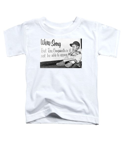 Disappointed Boy, 1957 Toddler T-Shirt