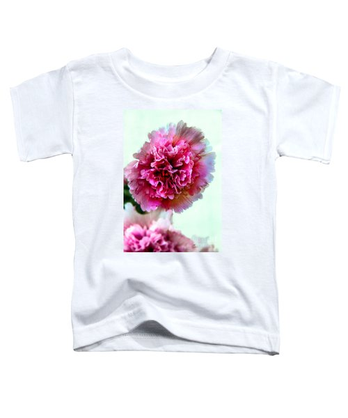 Double Hollyhock Toddler T-Shirt
