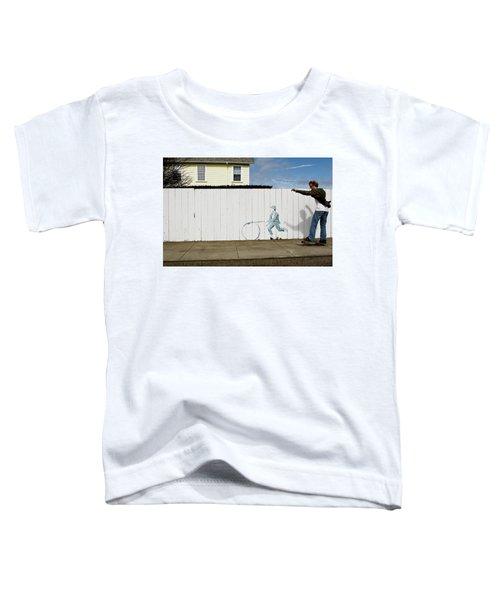 Downhill Buddy Toddler T-Shirt