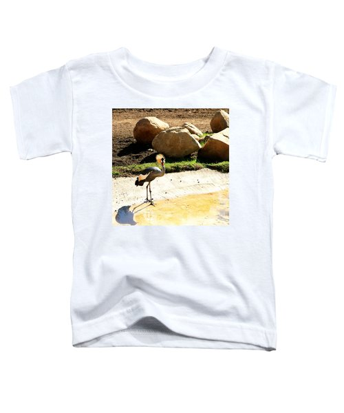 East African Crowned Crane Toddler T-Shirt