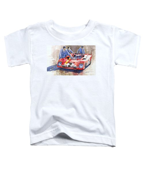 Ferrari 312 Pb 1972 Daytona 6-hour Winning Toddler T-Shirt