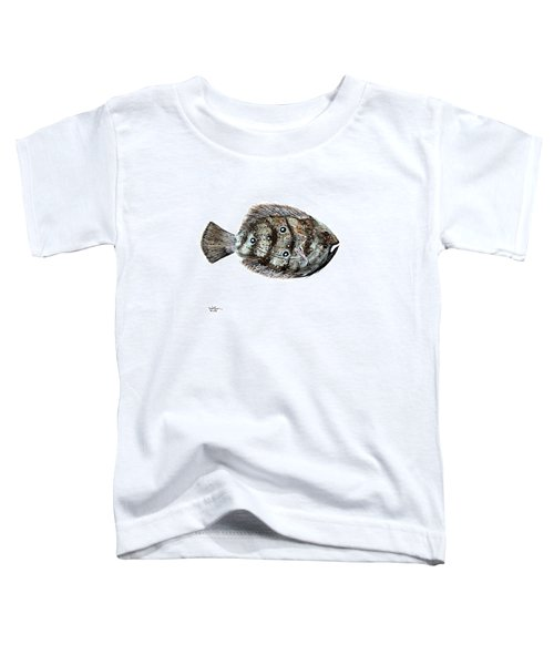 Gulf Flounder Toddler T-Shirt