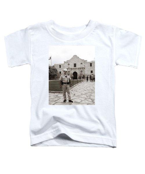 He Guards The Alamo Toddler T-Shirt