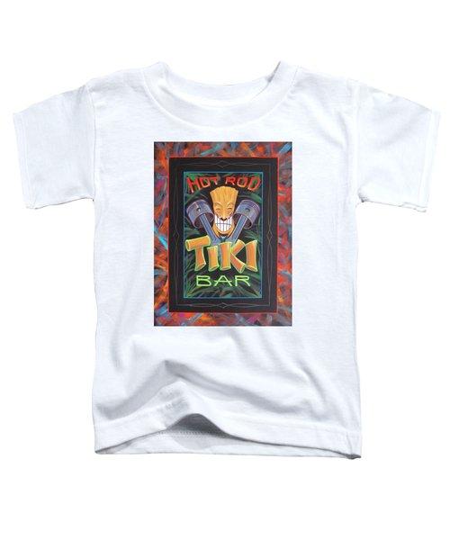 Hot Rod Tiki Bar Toddler T-Shirt