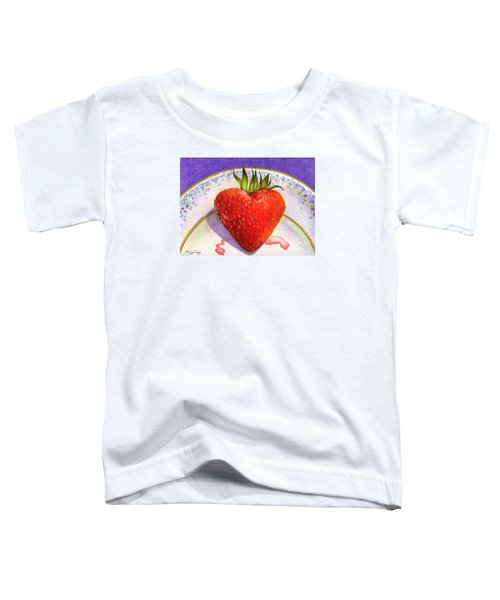 I Love You Berry Much Toddler T-Shirt