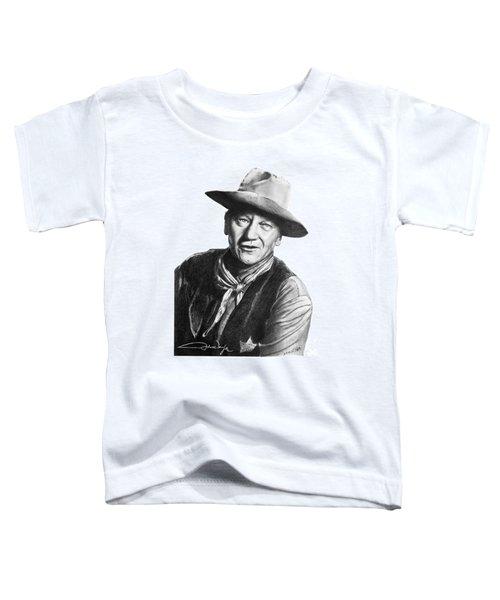 John Wayne  Sheriff Toddler T-Shirt
