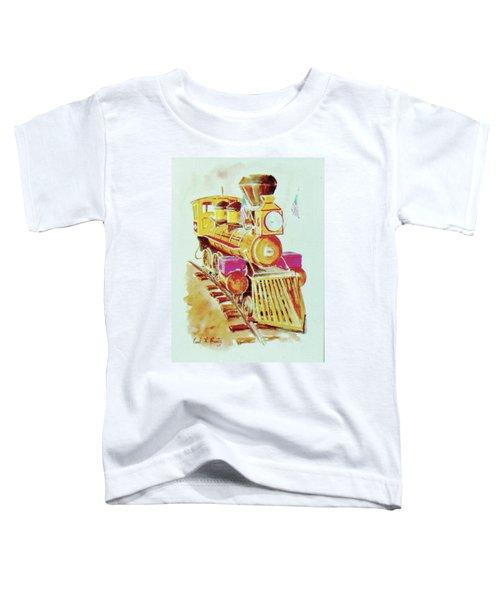 Locomotive Toddler T-Shirt