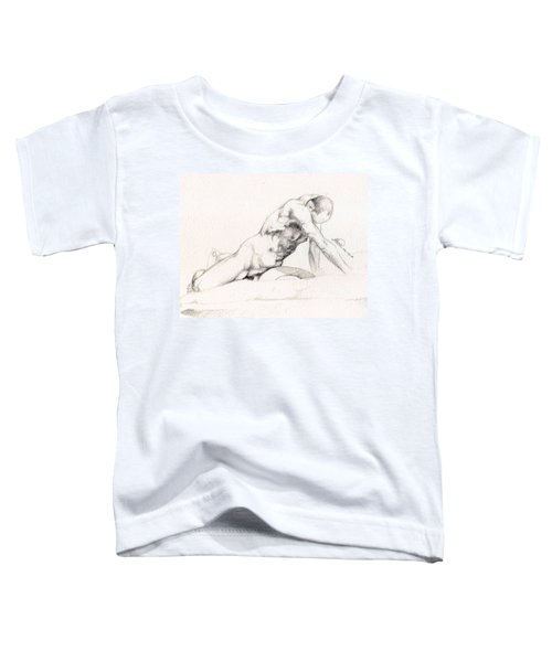 Male Nude Model Toddler T-Shirt