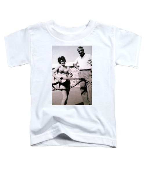 Mama Chris And Gary Cooper In Monte Carlo 1958 Toddler T-Shirt