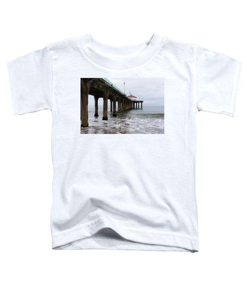 Manhattan Beach Pier Toddler T-Shirt