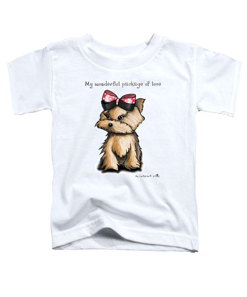 My Wonderful Package Of Love Toddler T-Shirt