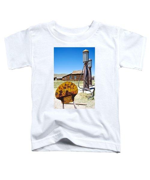 Old Gas Pumps Toddler T-Shirt