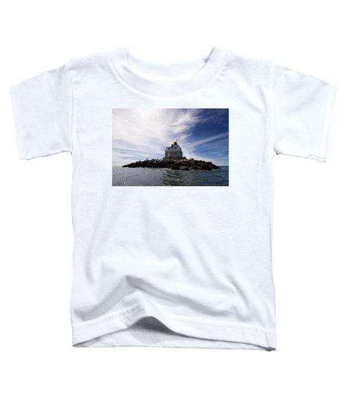 Penfield Reef Lighthouse Toddler T-Shirt