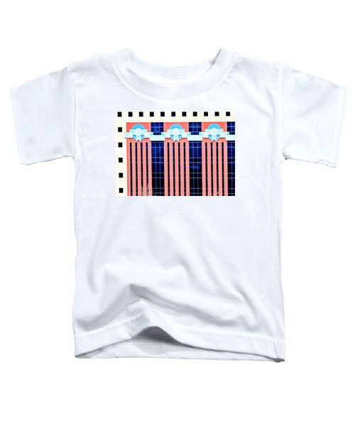 The Portland Building Toddler T-Shirt