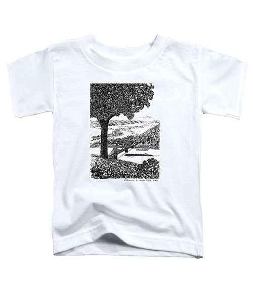 Portsmouth Ohio From A Kentucky Hill Toddler T-Shirt