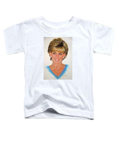 Princess Diana Toddler T-Shirt