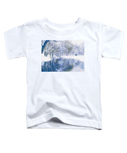 Reflections Of Winter Toddler T-Shirt