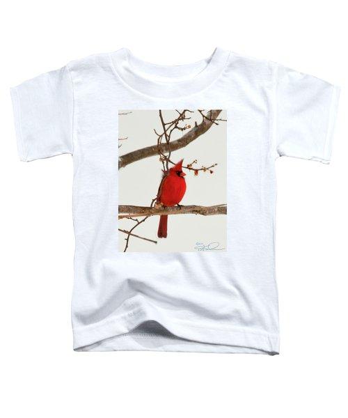 Righteous Cardinal Toddler T-Shirt