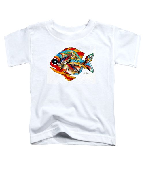 Seven Fish Toddler T-Shirt