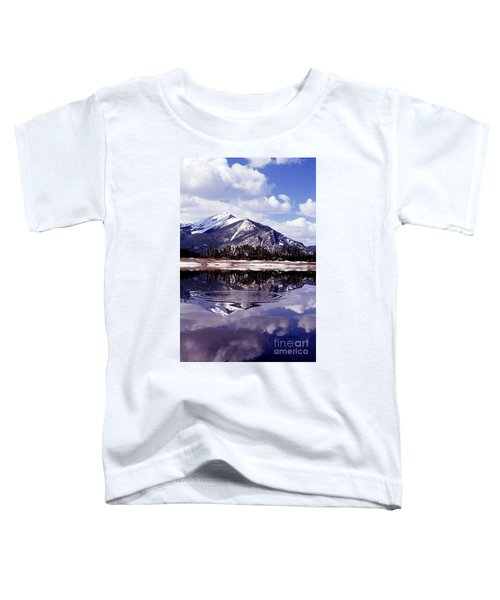Snowmelt Runoff In The Rocky Mountains Toddler T-Shirt